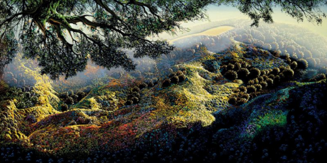 """Eyvind Earle: An Exhibit of a Disney Legend"""