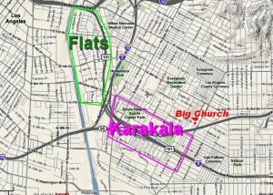 The Flats and Kara-Kala