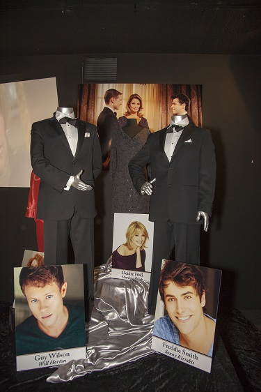Costumes and Props from the, now famous, Same Sex Marriage on Days of our Lives, Photo Courtesy of The Hollywood Museum
