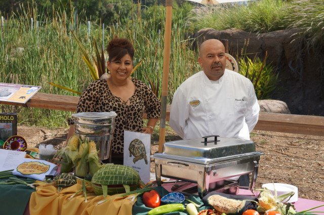 Chef Gerardo Ochoa and Alma Corona of El Cholo (All photos by Elise Thompson for The LA Beat)
