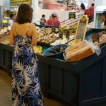 Vegetable stand Grand Central Market