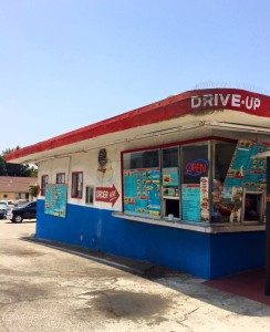 The Fosters Freeze in Burbank on S. Glenoaks Ave, was store #26, built in 1947 (photo by Nikki Kreuzer)