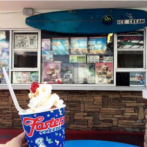 "This 1957-built Fosters Freeze in Hawthone was a hangout of the young Beach Boys, and referred to in their song, ""Fun, Fun Fun"" (photo by Nikki Kreuzer)"