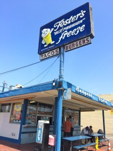 The very first Fosters Freeze opened in 1946 on La Brea Ave in Inglewood. That location is still in operation today (photo by Nikki Kreuzer)