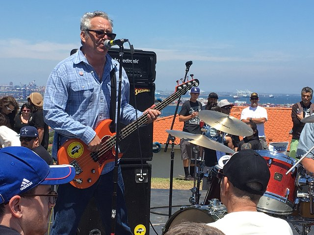 Punk icon and San Pedro cultural emissary Mike Watt. (photo by John Collinson)