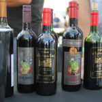 A selection of King Frosch wines