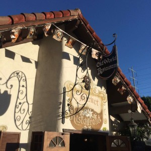 A unique experience... Old World Restaurant (photo by Nikki Kreuzer)