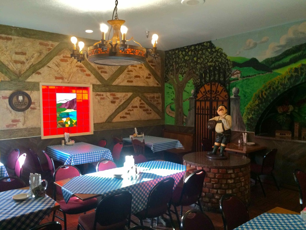Just one of the many rooms of the Old World Restaurant (photo by Nikki Kreuzer)