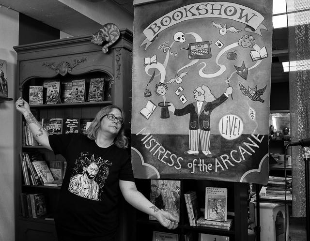 Jen Hitchcock, Proprietor, Book Show, Highland Park
