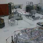 Next rover's heat shield under foil