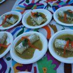 Green enchiladas from Gloria's