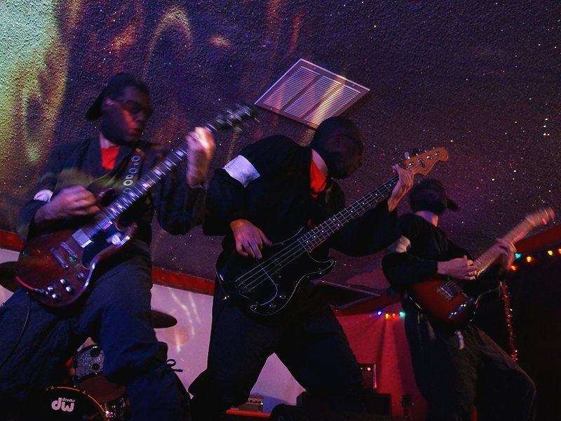 The Black Widows at Cafe NELA, August 2015