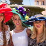 RACETRACK DELMar hat girls 2