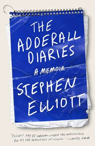 Book-Ness with K.P.-Ness: The Adderall Diaries