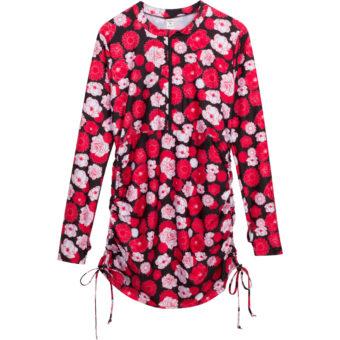"""Rosemary Beach"" - Short Sleeve Rash Guard Shirt with UPF 50+ UV Sun Protection"