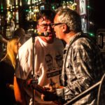 Bob Lee with Mike Watt and the Missingmen  (Photo by Jordan Schwartz)