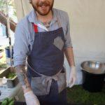 Chef Phillip Frankland Lee of Scratch Bar