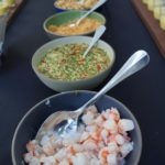 Mise en place for Chef Walter Manzke's curry