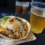 Savore Cuisine and Events' pork larb over jade rice with a 58-minute egg