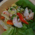 Sweet shrimp salad.from Bracken's Kitchen