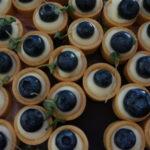 Elisa Testone's blueberry mini tarts with basil
