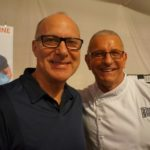 The Food Network's Robert Irvine and fan