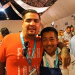Chef Aaron Sanches with Chef Tomas Mendez of Piccs