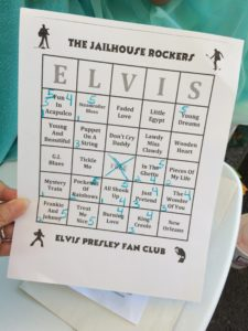 Elvis Bingo! TCB, baby... (photo by Nikki Kreuzer)