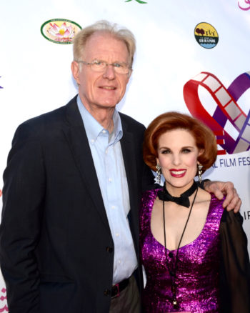 Kat Kramer and Ed Begley Jr. (Photo by Billy Bennight II)