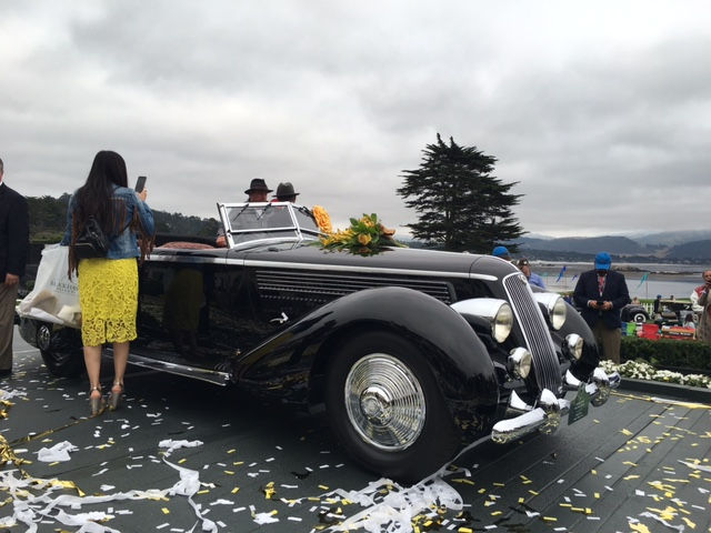 Pebble Beach Concourse d'Elegance, Sunday, August 21, 2016 Presented by Rolex