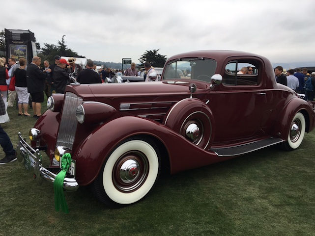 2016 Pebble each Concours d'Elegance (All photos by Rachel Ganz for The LA Beat)