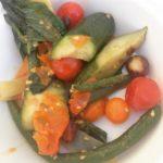 Chef Jonathan Waxman's pickled farmer's market vegetables