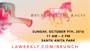 LA Weekly's 2nd Annual Brunch at The Races, Coming Sunday, October 9th