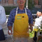 Chef Frank Stitt and his pickled shrimp