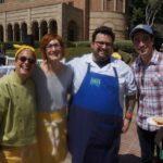 Chefs Susan Feniger, Jenn Louis from Lincoln in Portland, Bruce Kalman actor Ben Feldman