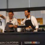 Chef Edras Ochoa's cooking demo