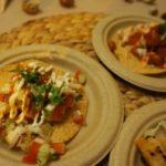 Coraloense's seafood tostadas and taco