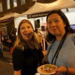 Food writers Julie Wolfson and Fiona