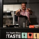 Chef Kris Morningstar of Terrine during demo