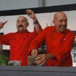 Chef Ramiro Arvizu and Jaime Martin del Campos