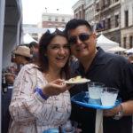 Guests enjoying salibutes from Chichen Itza