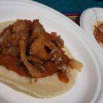 Tacos de Chicharron con carne