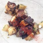 Octopus with Runner Beans and Chorizo Salad from Hatchet Hall