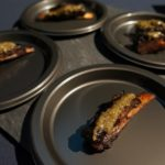 Lamb ribs from Chef Josiah Citrin of Melisse