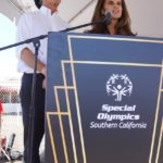 Bobby Shriver and Maria Shriver, whose mother, Dame Eunice Mary Kennedy Shriver, DSG was the founder in 1962 of Camp Shriver, which led to The Special Olympics.