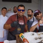 The Fishing with Dynamite shuckers