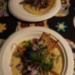 Cocinas y Calaveras carnitas taco