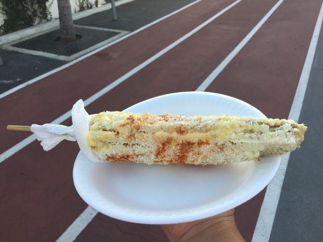 Elote (Mexican corn on the cob) | The LA Beat