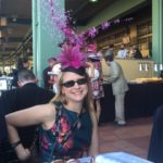A festive hat at  Breeders Cup World Championship 2016