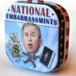 An example of the political mints sold as novelties in gift stores.